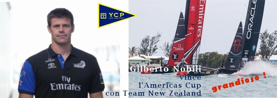 Gilberto Nobili vince la Coppa America con Team New Zealand